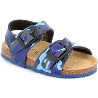 Sapatos Criança Sandálias Grunland SB0383 Azul