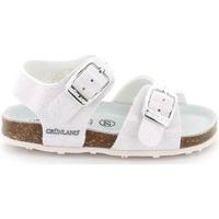 Sapatos Criança Sandálias Grunland SB1258 Branco
