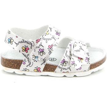 Sapatos Criança Sandálias Grunland SB1663 Branco