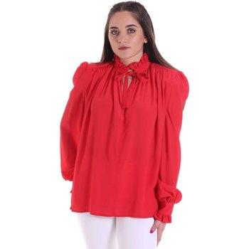 Textil Mulher Tops / Blusas Cristinaeffe 0138 2291 Vermelho