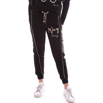 Textil Mulher Calças de treino Cristinaeffe 4962 Preto