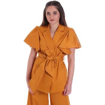 Textil Mulher Casacos/Blazers Cristinaeffe 0308 2491 Amarelo