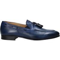 Sapatos Homem Mocassins Exton 1026 Azul