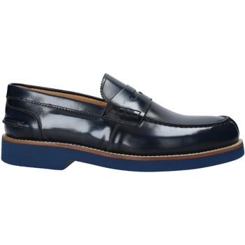 Sapatos Homem Mocassins Exton 2102 Azul