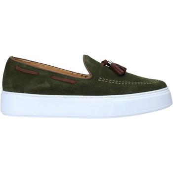 Sapatos Homem Mocassins Exton 511 Verde
