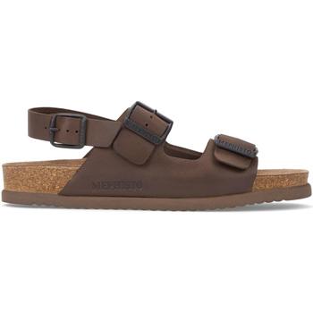 Sapatos Homem Sandálias Mephisto P5117407 Castanho
