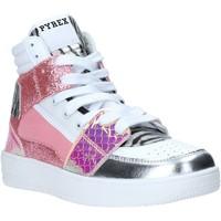 Sapatos Mulher Sapatilhas de cano-alto Pyrex PY050111 Rosa