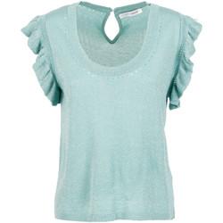 Textil Mulher Tops / Blusas Café Noir JM6190 Verde