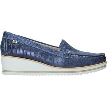 Sapatos Mulher Mocassins Valleverde 11451 Azul