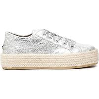 Sapatos Mulher Alpargatas Café Noir DG9570 Branco