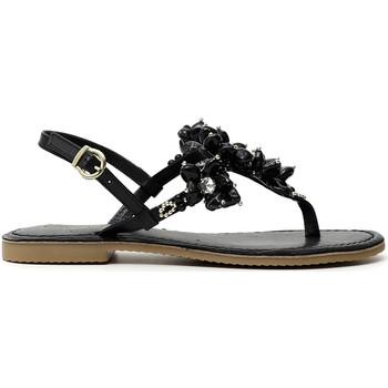 Sapatos Mulher Chinelos Café Noir GF1820 Preto