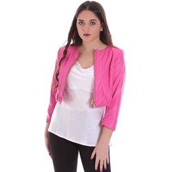 Textil Mulher Casacos  Cristinaeffe 0303 2348 Rosa