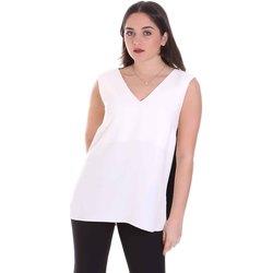Textil Mulher Tops / Blusas Cristinaeffe 1203 2496 Branco