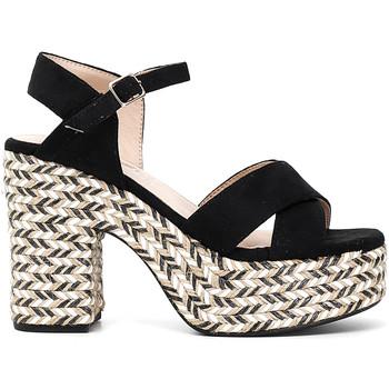 Sapatos Mulher Sandálias Café Noir XK9301 Preto