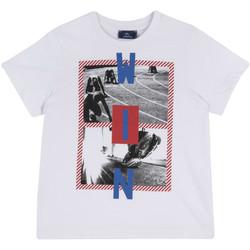 Textil Criança T-Shirt mangas curtas Chicco 09067134000000 Branco
