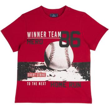 Textil Criança T-Shirt mangas curtas Chicco 09067134000000 Vermelho