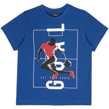 Textil Criança T-Shirt mangas curtas Chicco 09067134000000 Azul