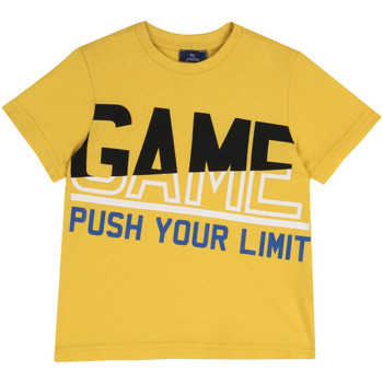 Textil Criança T-Shirt mangas curtas Chicco 09067134000000 Amarelo
