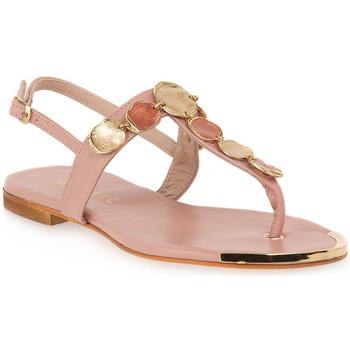 Sapatos Mulher Sandálias Mosaic NUDE 1420 Rosa