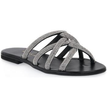 Sapatos Mulher Chinelos Mosaic IMPRESS Nero