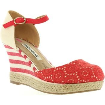 Sapatos Mulher Alpargatas Maria Mare 65870 Rojo