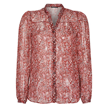 Textil Mulher camisas Ikks POULIO Vermelho