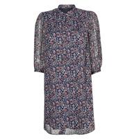 Textil Mulher Vestidos curtos Ikks SHALLOW Marinho
