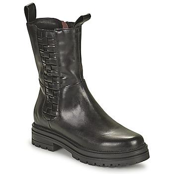 Sapatos Mulher Botas baixas Mjus DOBLE SQUARE Preto