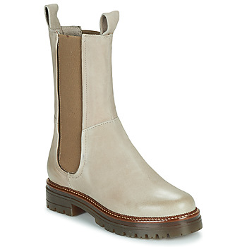 Sapatos Mulher Botas baixas Mjus DOBLE CHELS Bege