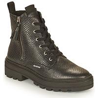 Sapatos Mulher Botas baixas Palladium Manufacture CULT 04 NAP Preto