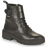 Sapatos Mulher Botas baixas Palladium Manufacture CULT 03 NAP Preto