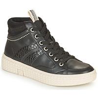 Sapatos Mulher Sapatilhas de cano-alto Palladium Manufacture TEMPO 03 SYN Preto