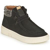 Sapatos Mulher Sapatilhas de cano-alto Palladium Manufacture TEMPO 10 SUD Preto