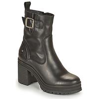 Sapatos Mulher Botins Palladium Manufacture MONA 01 NAP Preto