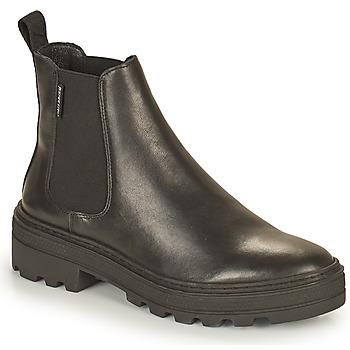 Sapatos Mulher Botas baixas Palladium Manufacture CULT 01 NAP Preto