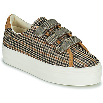 Sapatos Mulher Sapatilhas No Name PLATO M STRAPS Preto