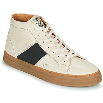 Sapatos Homem Sapatilhas de cano-alto Schmoove SPARK LOW BOOTS Bege