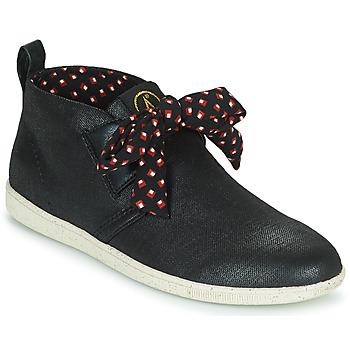Sapatos Mulher Sapatilhas de cano-alto Armistice STONE MID CUT W Preto