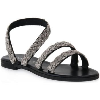 Sapatos Mulher Sandálias Mosaic NERO BRAIDS Nero