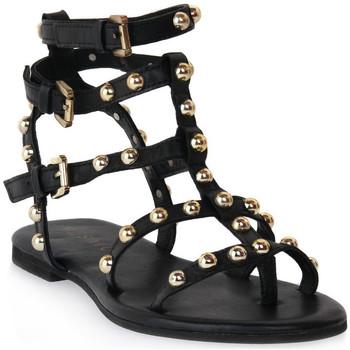 Sapatos Mulher Sandálias Mosaic 1600 VITELLO NERO Nero