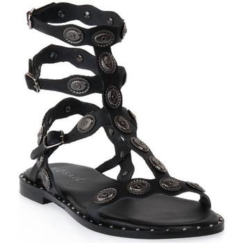 Sapatos Mulher Sandálias Mosaic 3030 VITELLO NERO Nero
