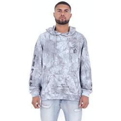 Textil Homem Sweats Sixth June Sweatshirt  Custom Tie Dye gris anthracite/rose hibiscus