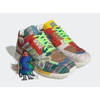 Sapatos Sapatilhas adidas Originals ZX 8000 x Sean Wotherspoon Superearth Off-White/Blue Bird/Red