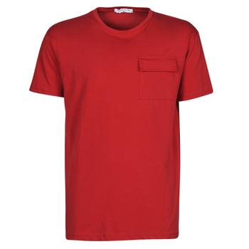 Textil Homem T-Shirt mangas curtas Yurban ORISE Vermelho