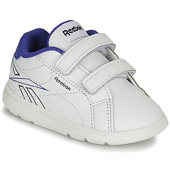 Sapatos Rapaz Sapatilhas Reebok Classic RBK ROYAL COMPLETE Branco / Azul