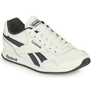 Sapatos Rapaz Sapatilhas Reebok Classic REEBOK ROYAL CLJOG Branco / Preto