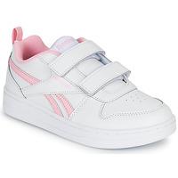 Sapatos Rapariga Sapatilhas Reebok Classic REEBOK ROYAL PRIME Branco / Rosa