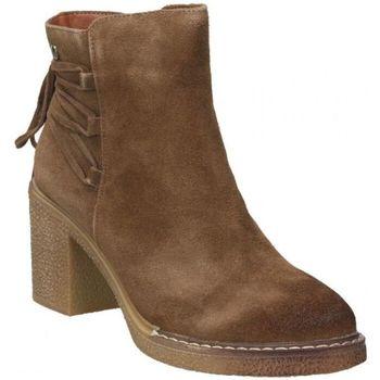 Sapatos Mulher Botins D'angela DRB16368-ME Marron