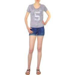 Textil Mulher Shorts / Bermudas School Rag SAILOR COMFORT Azul