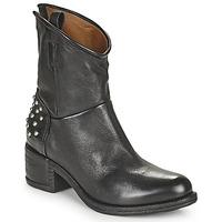 Sapatos Mulher Botas baixas Airstep / A.S.98 OPEA STUDS Preto